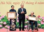 Chủ tịch nước trao tặng các danh hiệu cao quý cho một số cá nhân của Liên hiệp các hội khoa học và kỹ thuật Việt Nam