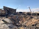 Căn cứ không quân Iraq có quân Mỹ đồn trú bị trúng tên lửa