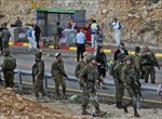 Tấn công vào trạm cảnh sát Israel ở khu Bờ Tây