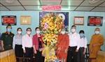 Đoàn Ủy ban Trung ương MTTQ Việt Nam đi thăm, chúc mừng Đại Lễ Phật đản