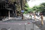 Thăm hỏi, hỗ trợ gia đình các nạn nhân vụ cháy phòng trà ở Nghệ An