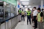 Kiểm tra công tác phòng, chống dịch COVID-19 tại các cơ sở sản xuất, khu công nghiệp ở Thái Nguyên