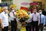 Bí thư Thành ủy TP Hồ Chí Minh chúc mừng Hội Nhà báo thành phố