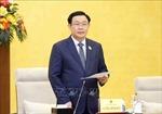 Chủ tịch Quốc hội làm việc với Ban Thường vụ Đảng ủy Văn phòng Quốc hội