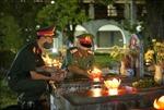 Lễ thắp nến tri ân tại Nghĩa trang Liệt sỹ Quốc gia A1