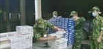 Liên tiếp bắt 5 vụ vận chuyển thuốc lá điếu ngoại nhập lậu qua biên giới