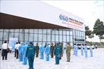 Bệnh viện dã chiến truyền nhiễm số 5D xuất quân hỗ trợ chống dịch tại phía Nam