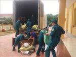 Hỗ trợ hàng trăm tấn hàng hóa cho các tỉnh, thành phía Nam