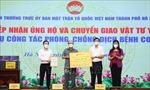 Hà Nội: Tiếp nhận tiền và hiện vật ủng hộ công tác phòng chống dịch