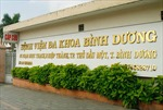 Bệnh viện Đa khoa Bình Dương ngừng nhận bệnh nhân ngoại trú