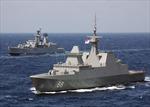 Singapore, Malaysia tập trận hải quân Malapura 2021