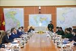 Thứ trưởng Bộ Quốc phòng tiếp các Trưởng Cơ quan đại diện Việt Nam ở nước ngoài