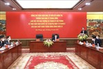 Thường trực Ban Chỉ đạo Tổng kết Nghị quyết 19-NQ/TW làm việc với Thành ủy Hải Phòng