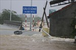 Mưa lũ gây nhiều thiệt hại tại khu vực miền Trung