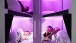 Air New Zealand ra mắt giường ngủ đầu tiên trên máy bay