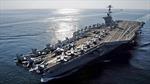 Iran tung video ghi hình tàu sân bay Mỹ trên vịnh Ba Tư