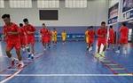 Tuyển Futsal Việt Nam tưng bừng hội quân với lực lượng mạnh nhất