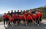 Đội tuyển Futsal Việt Nam đá trận giao hữu với đội tuyển Iraq ngày 17/5