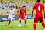 Đội tuyển Bóng đá Việt Nam nhận thưởng lớn sau trận đấu với UAE