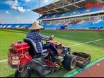 Cải tạo mặt sân Mỹ Đình phục vụ các trận lượt về vòng loại World Cup 2022