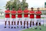 Tuyển quần vợt Việt Nam cùng Malaysia tranh vé thăng hạng Davis Cup