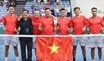 Tuyển quần vợt Việt Nam giành vé dự play-offs Davis Cup nhóm II thế giới