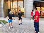 Âm tính với COVID-19, đoàn Thể thao Việt Nam gia nhập và tập luyện tại Làng vận động viên Olympic