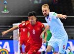 Cầm hòa CH Séc 1 - 1, tuyển futsal Việt Nam giành vé vào vòng 1/8 FIFA World Cup 2021