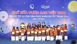 Quỹ Sữa Vươn cao Việt Nam và Vinamilk trao 66.000 ly sữa cho trẻ em Vĩnh Phúc nhân dịp Tết Trung thu