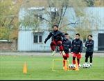 Đội tuyển U23 Việt Nam vượt thời tiết giá lạnh tại Kyrgyzstan