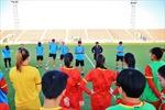 Tuyển nữ Việt Nam đã xác định được trình độ của đối thủ tuyển nữ Tajikistan