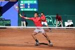 Tuyển quần vợt Việt Nam dừng bước ở vòng play-off Davis Cup