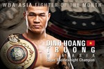 Giành đai WBA châu Á, Trương Đình Hoàng lập kỳ tích cho boxing Việt Nam