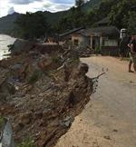 Lai Châu: Mưa lũ làm 2 người chết và mất tích, nhiều tuyến đường tắc nghẽn