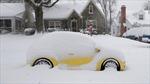 Hình ảnh bão tuyết làm tê liệt miền Nam nước Mỹ