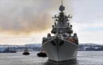 Tàu chiến Hạm đội Phương Bắc của Nga tiến vào Địa Trung Hải