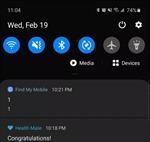 Người dùng Samsung Galaxy toàn cầu bất ngờ nhận thông báo kỳ lạ