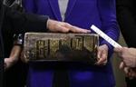 Cuốn Kinh thánh - Luật bất thành văn trong lễ nhậm chức Tổng thống Mỹ