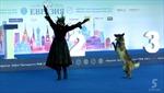 Thú vị cuộc thi khiêu vũ cùng chó cưng tại Nga