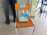 Xét nghiệm lại PCR phòng COVID-19 cho 3 thí sinh ở điểm thi Phan Đình Phùng (Hà Nội)