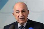 Lãnh đạo các nước chúc mừng Tổng thống đắc cử Algeria