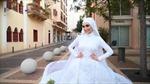 Cô dâu bị thổi bay trong vụ nổ tại Beirut khi đang chụp ảnh cưới