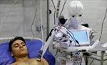 Y tá robot chăm sóc bệnh nhân nghi mắc COVID-19 tại Ai Cập