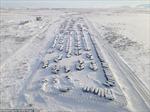 Kỳ lạ 'thị trấn ma' băng giá tại Nga