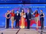 Vietjet được trao giải 'Đồng phục tiếp viên đẹp nhất Châu Á' 2018