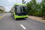 Những hình ảnh đầu tiên của xe buýt điện 'made in Việt Nam' vận hành