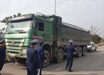 Phạt hơn 55 triệu đồng lái xe quá tải 172% qua cầu Thăng Long