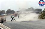 Vượt bão COVID-19 đảm bảo tiến độ cao tốc Trung Lương - Mỹ Thuận