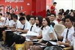 Tưng bừng ngày hội tuyển dụng tiếp viên Vietjet trong tháng 10
