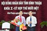 Ông Nguyễn Hoài Anh được bầu giữ chức Chủ tịch Hội đồng nhân dân tỉnh Bình Thuận